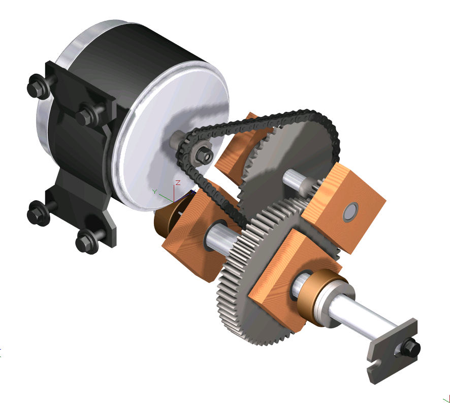 Diy electric vehicles and karts mechanical transmissions for Electric motors and drives